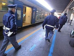 Un trafficante di droga è stato scoperto perché viaggiava in treno senza biglietto