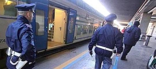 trafficante droga biglietto treno