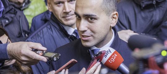 """Per Di Maio il vertice di ieri sera sui migranti è stato un """"incontro molto cordiale"""""""