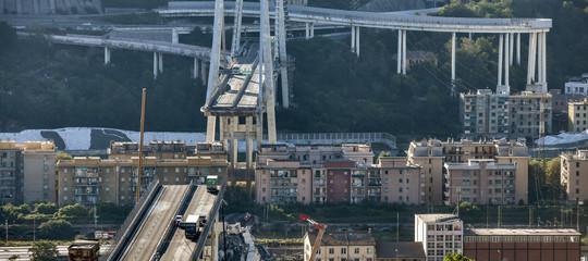 Genova: avviate le prove di carico sul moncone del Ponte Morandi