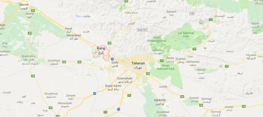 Iran: aereo cargo 747 con 10 persone a bordo si schianta vicino Teheran