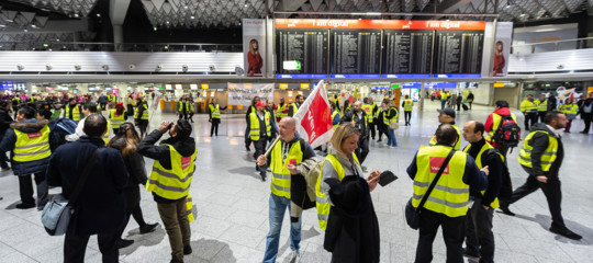 Germania sciopero voli cancellati