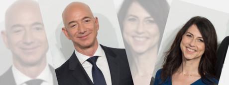 Jeff Bezos e MacKenzieTuttle