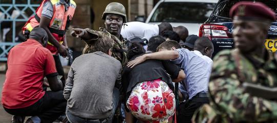 Resta incerto il numero delle vittime nell'attentato terroristico a Nairobi