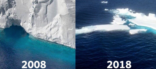 ghiacciaio bufala