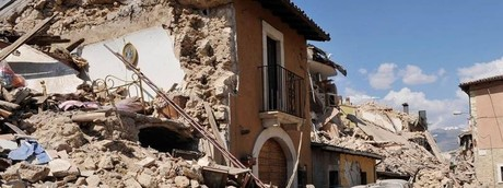 Terremoto marche umbria macerata (foto da Facebook)
