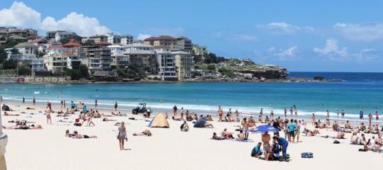 In Australia sta facendo un caldo torrido, minima notturna a 39° in certe zone