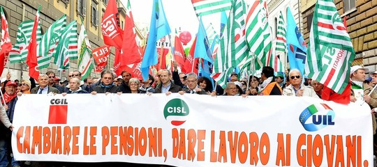 Manovra sindacati