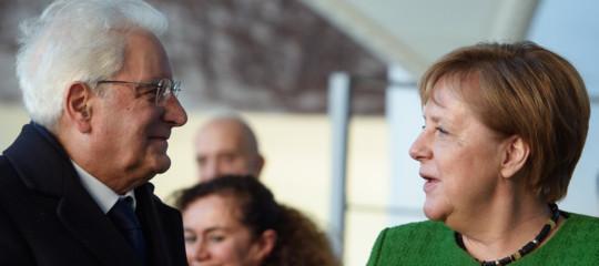 Il bilancio della visita diMattarellaa Berlino (eMerkelelogia Conte)