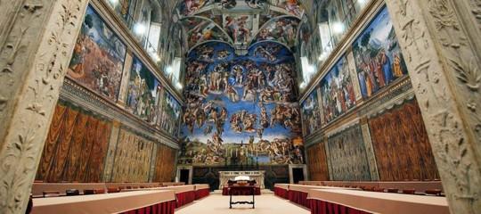 Papa Francesco ha commissariato la Cappella Sistina