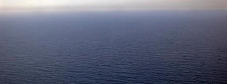 Il mare al largo della Libia dove è avvenuto il naufragio