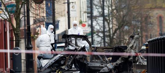 attentato derry bomba