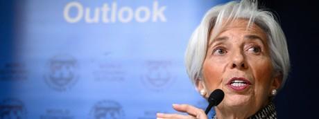 Christine Lagarde, Fondo monetario internazionale
