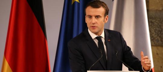 Francia,Macron: ilnazionalismo è una minaccia all'Ue
