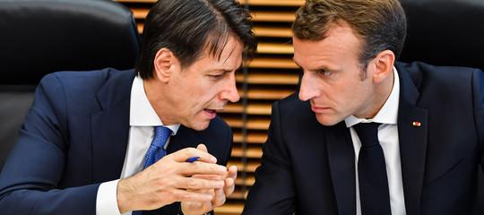 """""""La storica amicizia fra Italia e Francia non è in discussione"""", dice Conte"""