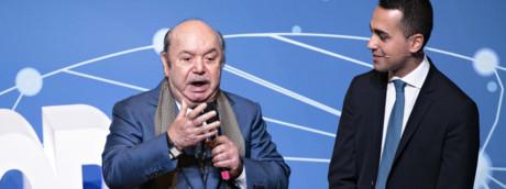 Lino Banfi e Luigi Di Maio
