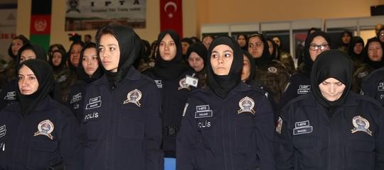 Le poliziotte afghane saranno addestrate dalle agenti turche