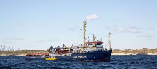 SeaWatch: guasto alla nave, slitta a domattina sbarco a Catania