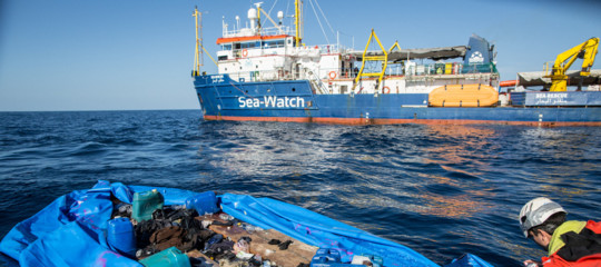 migranti sea watch
