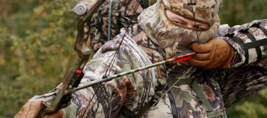La Lombardia ha dato il via libera alla caccia ai cinghiali anche con l'arco