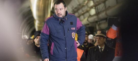 """Salvini ha depositato la sua memoria """"tecnica e non politica"""" sul casoDiciotti"""