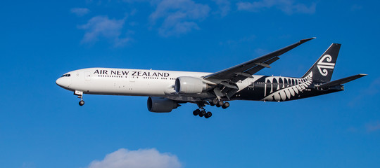 Nuova Zelanda Cina atterraggio negato