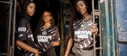 La maglia da calcio nigeriana della Nike