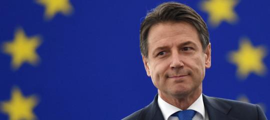 Conte ha commentato gli attacchi ricevuti da alcuni parlamentari europei