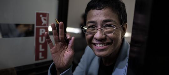 Filippine; libera su cauzione la giornalista 'persona dell'anno'