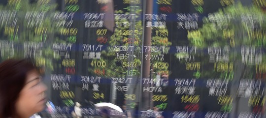 Borsa TokyoNikkei chiude ribasso