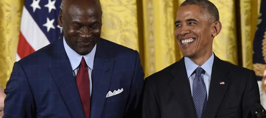 Obamae Jordan insieme per creare una Lega di basket in Africa conl'Nba