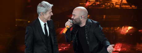 La terza giornata di Sanremo 2018 Claudio Baglioni e i Negramaro
