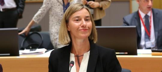 PerchéRenzivolle FedericaMogherinialla guida della politica estera Ue