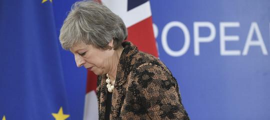 Brexit: tre deputati conservatori lasciano il partito diTheresaMay