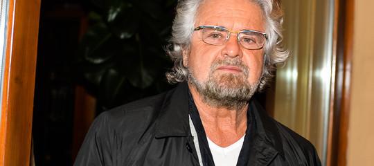 Grillo ha detto ai giudici quanto ha guadagnato dal suo blog