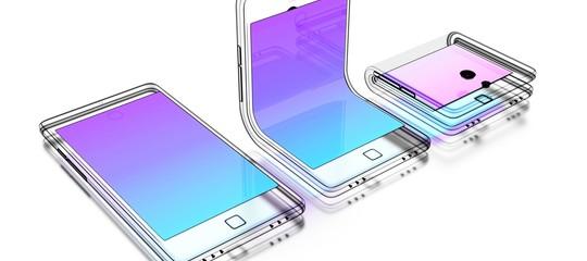 Appleha depositato il brevettodell'iPhonepieghevole
