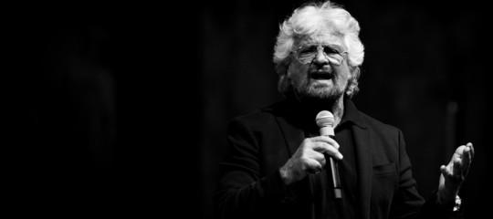 Frasi notevoli dette da Grillo durante il suo spettacolo a Roma