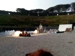 Un artista cinese ha fatto rivivere la distruzione di Pompei