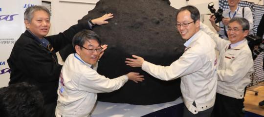 Una sonda giapponese è atterrata su uno degli asteroidi più antichi del sistema solare