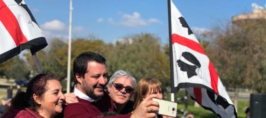 Salvini pregusta la conquista della prima Regione sotto il Po