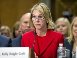 Trumpha nominatoKellyKnightCraftambasciatrice Usa all'Onu