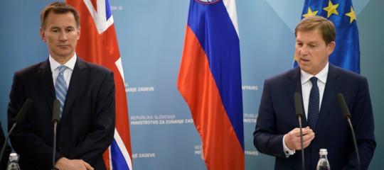 jeremy hunt slovenia