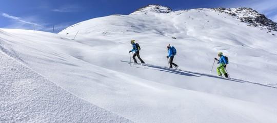 Sulle piste da sci con gli spinelli: diversi turisti segnalati