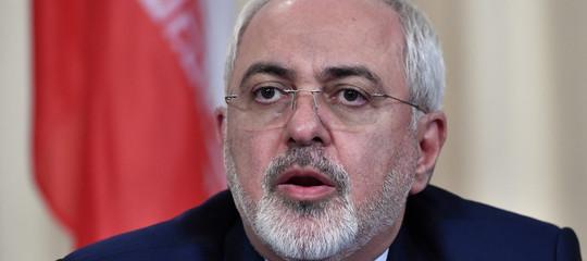 iran zarif rohani dimissioni