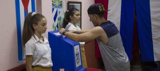 Cuba voto Costituzione