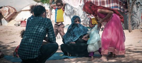 yemen oxfam spose bambine