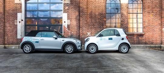 bmw mercedes car sharing
