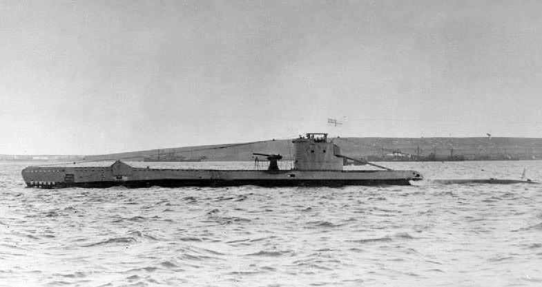 Il sottomarino britannico Urge (WikiMedia)