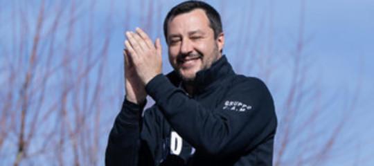 Salvini coglione berlusconi
