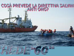 Cosa prevede la direttiva di Salvini sulle Ong?